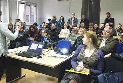 """A series of meetings with citizens as part of the project """"Dialogue on mobility in Zagreb"""" have began"""