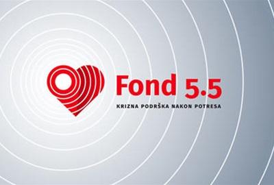 Fond 5.5 za kriznu podršku nakon potresa