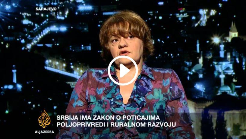 Gostovanje direktorice ODRAZ-a u emisiji Kontekst medijske kuće Al Jazeera Balkans