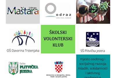 Školski volonterski klub – mjesto osobnog i socijalnog razvoja mladih, solidarnosti i aktivnog građanstva