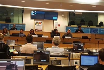 "ODRAZ director took part in the panel discussion on ""The potential of community-led action in the EU"""