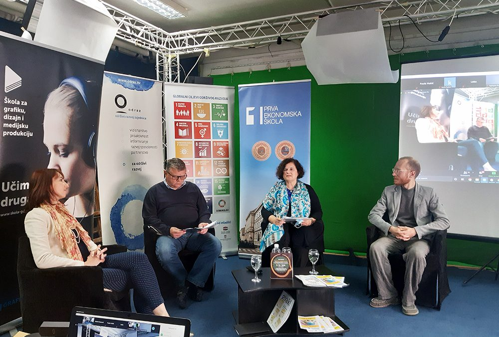 Panel discussion on Sustainable and personal development in high school teaching held in Zagreb