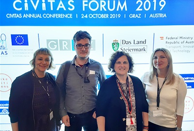 ODRAZ on the 17th CIVITAS Forum in Graz