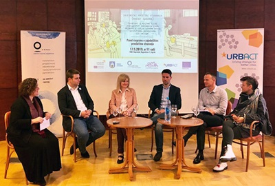 Panel discussion on makerspace successfully held in Zagreb