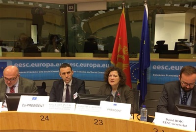 12th meeting of the EU-Montenegro Civil Society Joint Consultative Committee