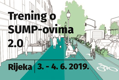 [Zabilježite datum] Najava treninga o SUMP-ovima 2.0 za predstavnike gradova i ostale dionike iz Hrvatske