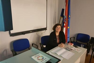 Direktorica ODRAZ-a održala predavanje na UN Akademiji