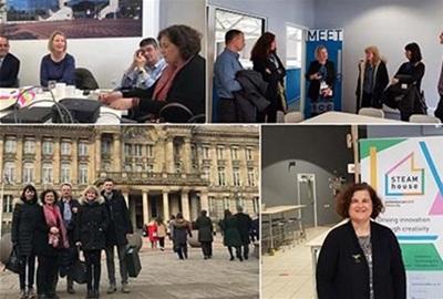 Zagrebački tim projekta Urban M posjetio kolege u Birminghamu