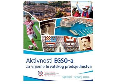 Objavljene aktivnosti EGSO-a za vrijeme hrvatskog predsjedništva
