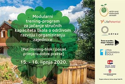Sudjelujte u petom trening-bloku edukacije o održivom razvoju i organiziranju zajednice u sklopu kojeg ćemo posjetiti Reciklirano imanje Vukomerić