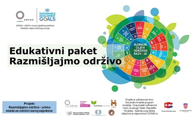 ODRAZ created educational package on sustainable development for high school students