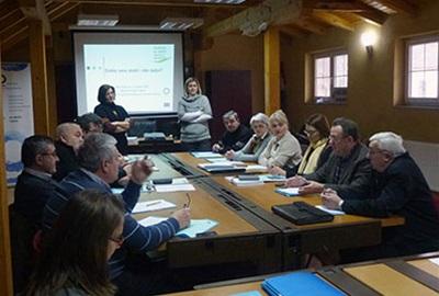Trening program za održivi lokalni razvoj-LAG Izvor, 2011.-2012.
