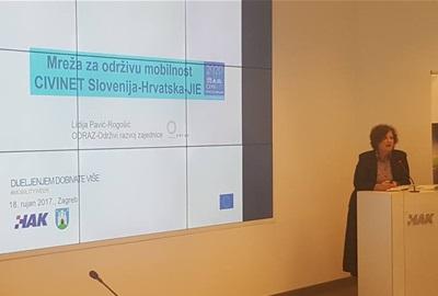 Direktorica ODRAZ-a na stručnom skupu Europa u pokretu