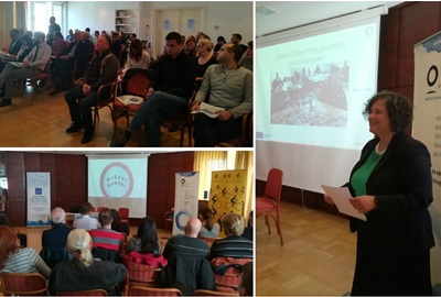 """Panel discussion """"Consultation of Citizens on Traffic Issues and Mobility"""" held in Zagreb"""