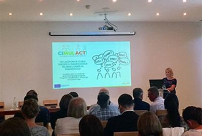 Predstavljanje projekta CIMULACT na Savjetovanju o lokalnoj samoupravi u Rapcu
