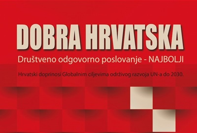ODRAZ as one of 79 examples of corporate social responsibility in Croatia in the book of Good Croatia