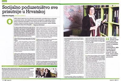 Intervju s direktoricom ODRAZ-a u Reviji HAK-a