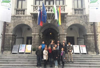 CIVINET Slovenia-Croatia-SEE Study visit to Ljubljana