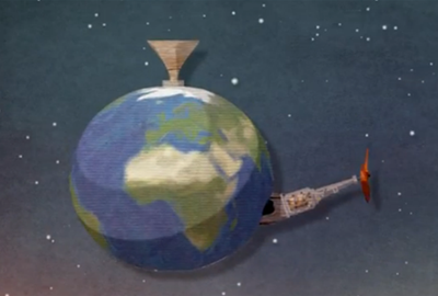 Animated film about sustainable development