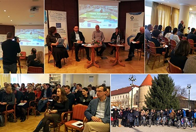 A conference on sustainable urban mobility and a study tour for the members of the CIVINET network successfully held in Zagreb