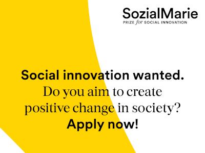 Natječaj za europsku nagradu za društvene inovacije – SozialMarie za 2021.