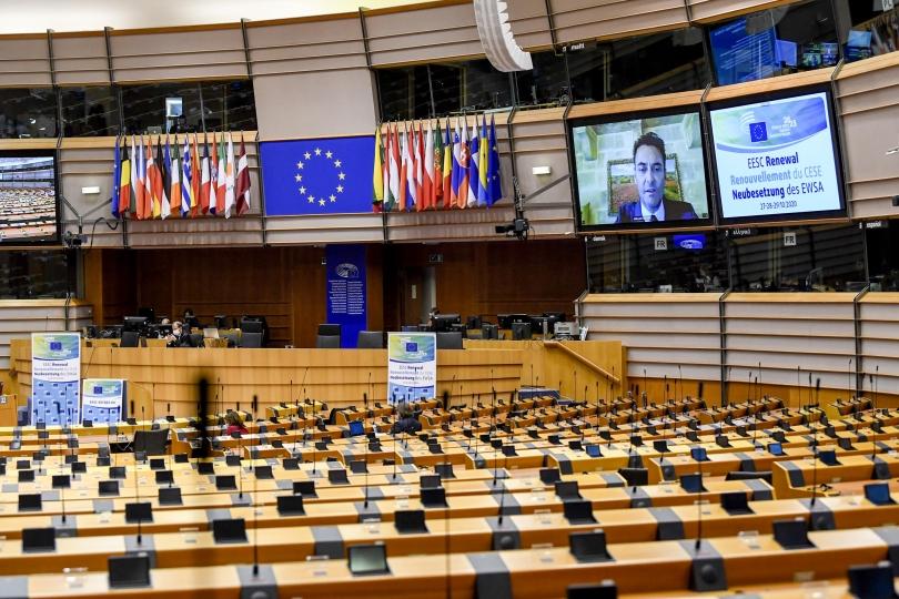 Konstituirajuće plenarno zasjedanje EGSO-a