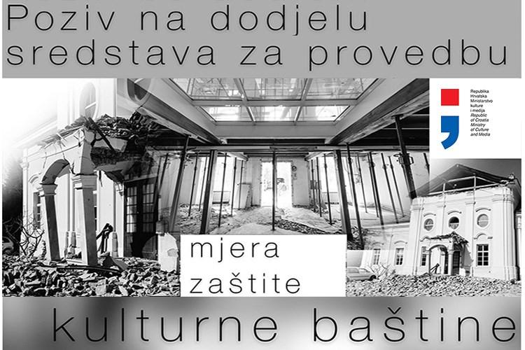 Objavljen Poziv za dodjelu bespovratnih 800 milijuna kuna za potresom oštećenu baštinu na području Grada Zagreba, Krapinsko-zagorske i Zagrebačke županije
