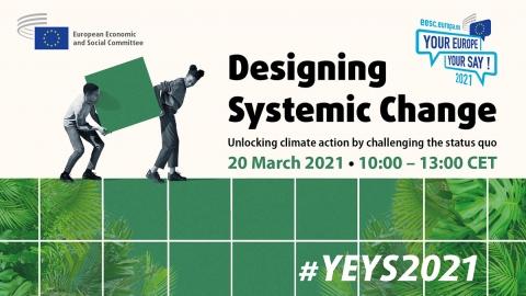 EGSO će na društvenim mrežama organizirati raspravu o ulozi sistemskih promjena u borbi protiv klimatskih promjena