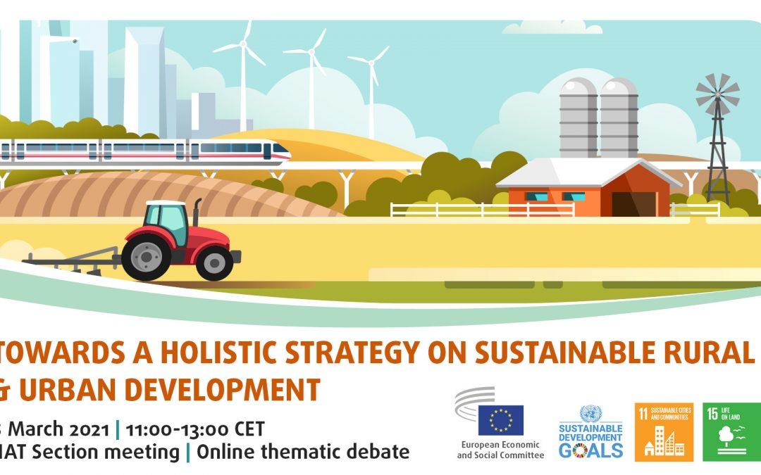 EGSO poziva na raspravu o važnosti cjelovite strategije za održivi razvoj ruralnih i urbanih područja