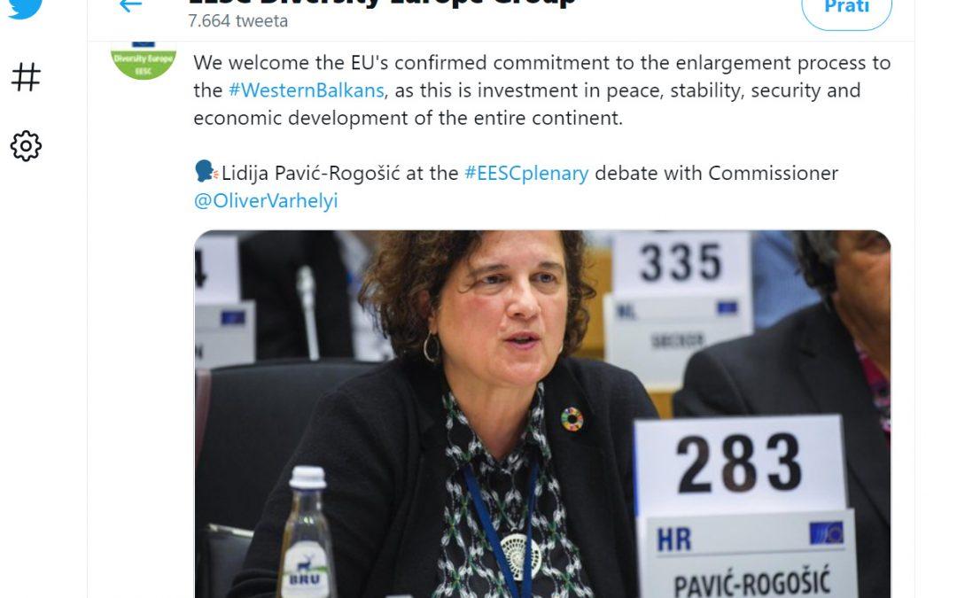 Direktorica ODRAZ-a sudjelovala u raspravi o perspektivi pristupanja EU-u za zemlje zapadnog Balkana