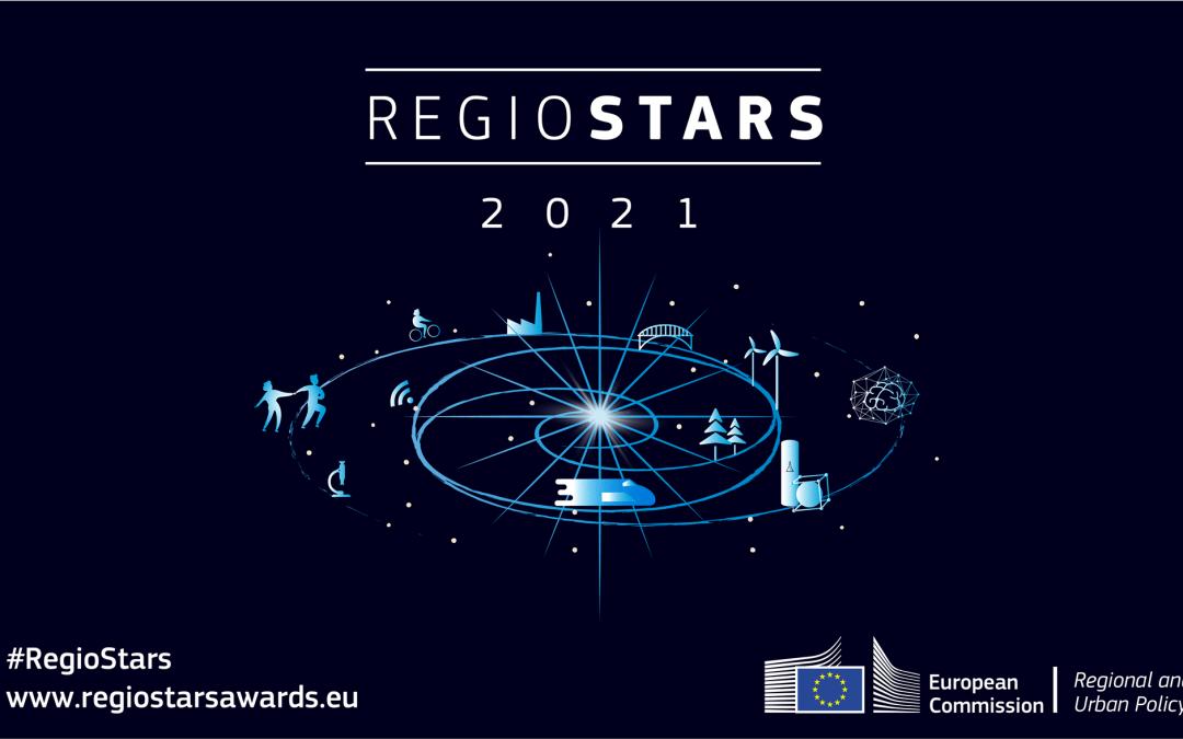 Otvorene prijave za nominaciju za nagradu Europske komisije Regiostars 2021!