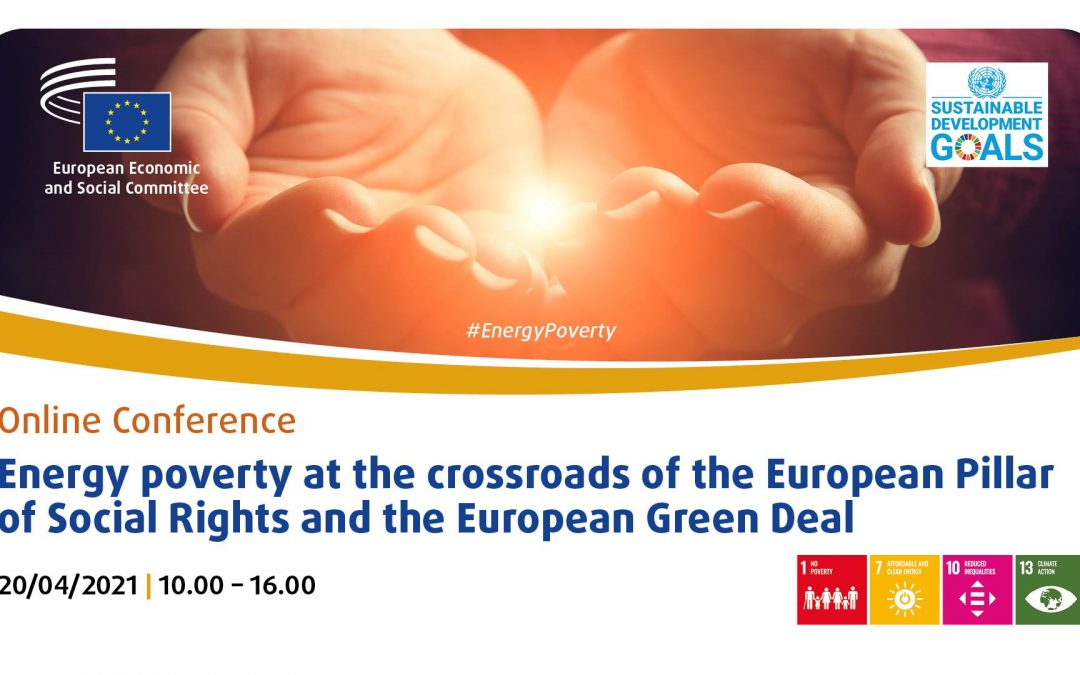 Poziv na konferenciju Energetsko siromaštvo na razmeđu Europskog stupa socijalnih prava i Europskog zelenog plana