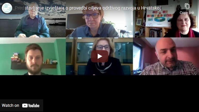 Sudjelovali smo na predstavljanju izvještaja o provedbi ciljeva održivog razvoja u Hrvatskoj!