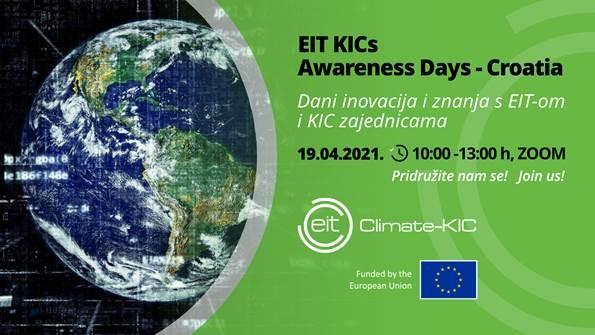 Dani inovacija i znanja s EIT-om i KIC zajednicama