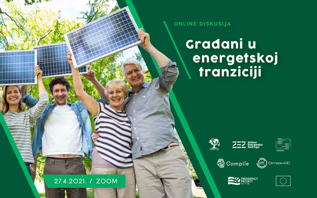 """Pridružite se online diskusiji """"Građani u energetskoj tranziciji"""""""