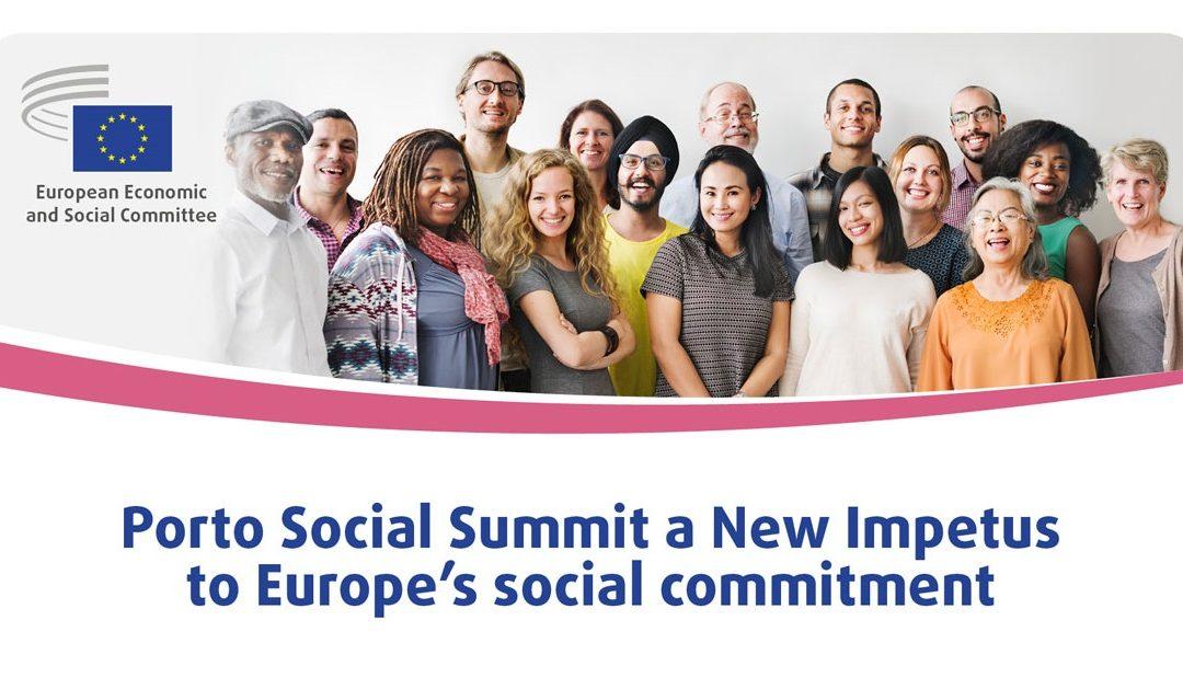 EGSO na Socijalnom samitu u Portu