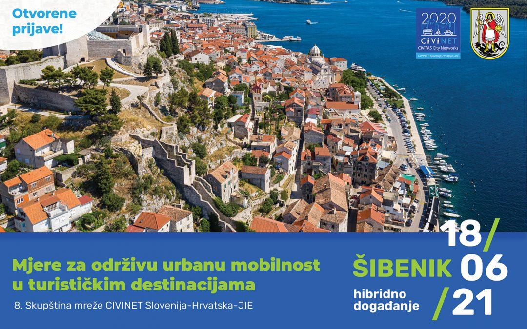 """Okrugli stol """"Mjere za održivu urbanu mobilnost u turističkim destinacijama"""" u Šibeniku"""