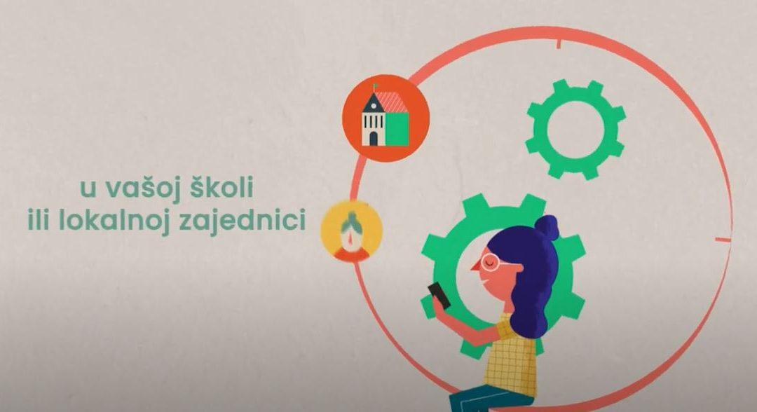 Pogledajte video Kako organizirati (školsku) volontersku akciju?