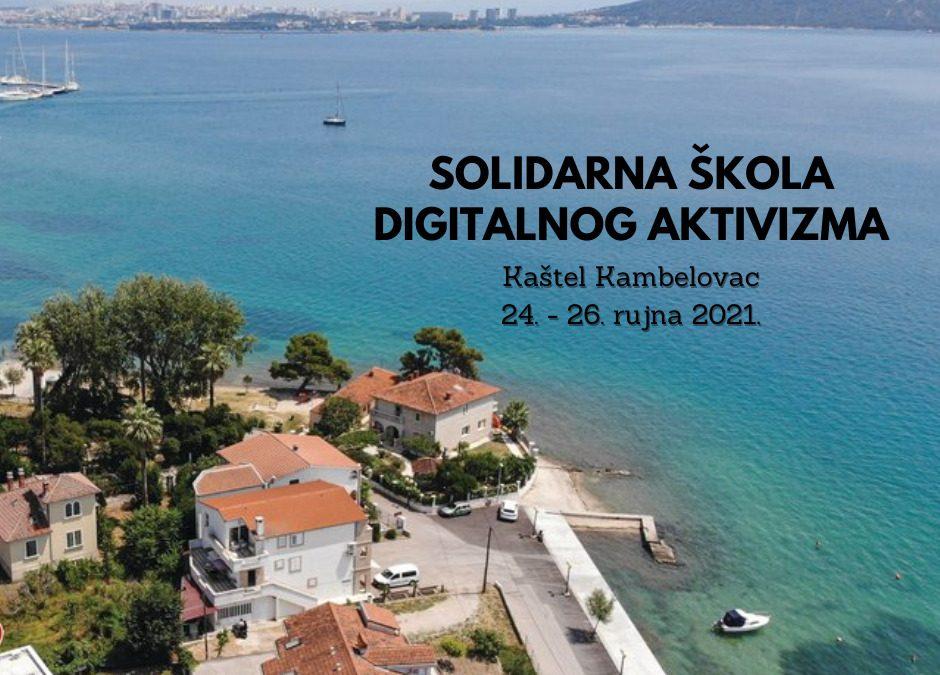 Otvorene prijave za školu digitalnog aktivizma u Kaštel Kambelovcu