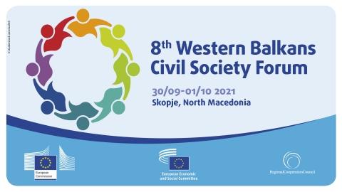 8th Western Balkans Civil Society Forum held in Skopje