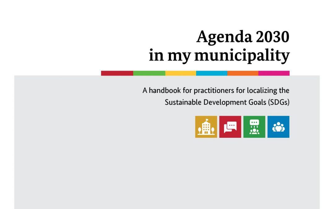 "Priručnik ""Agenda 2030 u mojem gradu"""