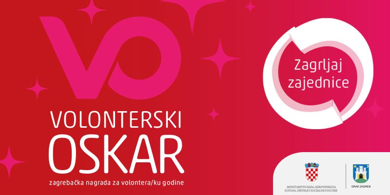 Otvorene prijave za Volonterski Oskar, najprestižniju zagrebačku volontersku nagradu